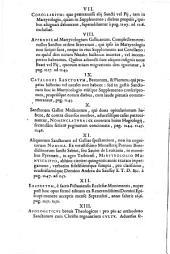 Martyrologium Gallicanum... certi natales indicantur, triumphi... opus, in cuius penu constat... studio ac labore Andreae du Saussay...