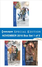 Harlequin Special Edition November 2016 Box Set 1 of 2: A Child Under His Tree\The Rancher's Expectant Christmas\Thankful for You