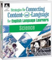 Strategies for Connecting Content and Language for ELLs  Science eBook PDF