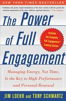 The Power of Full Engagement PDF