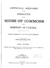 Official Report of Debates, House of Commons: Volume 18