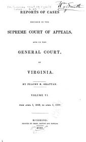Cases Decided in the Supreme Court of Appeals of Virginia: Volume 47
