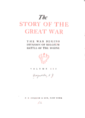 The story of the great war: with complete historical record of events to date, Volume 3