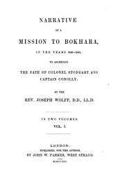 Narrative of a Mission to Bokhara: Volume 1