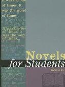 Novels for Students