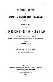 Mémoires et compte-rendu des travaux