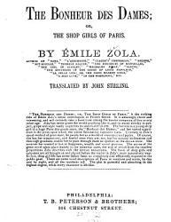 The Bonheur Des Dames Or The Shop Girls Of Paris Book PDF