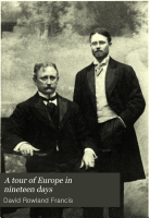 A Tour of Europe in Nineteen Days PDF