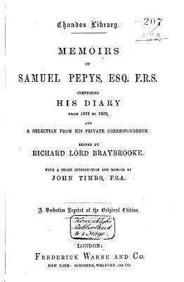 Memoirs of Samuel Pepys     PDF