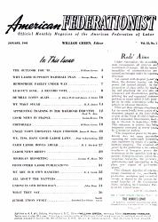 The American Federationist Book PDF