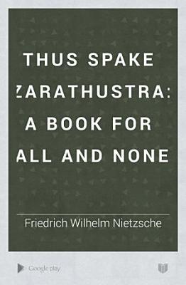 Thus Spake Zarathustra