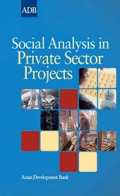 Social Analysis in Private Sector Projects
