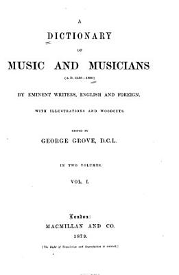 A Dictionary of Music and Musicians PDF