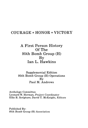 Courage honor victory