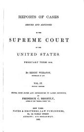United States Reports: Cases Adjudged in the Supreme Court, Volume 17