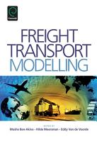Freight Transport Modelling PDF