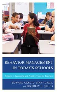 Behavior Management in Today   s Schools PDF