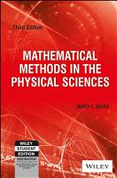 MATHEMATICAL METHODS IN THE PHYSICAL SCIENCES  3RD ED PDF