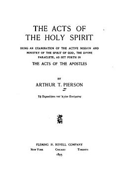 The Acts of the Holy Spirit PDF