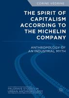 The Spirit of Capitalism According to the Michelin Company PDF
