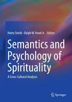Semantics and Psychology of Spirituality PDF