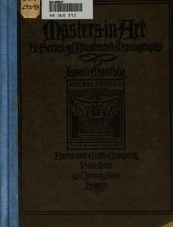 Michelangelo  as a Sculptor PDF