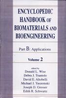Encyclopedic Handbook of Biomaterials and Bioengineering  v  1 2  Applications PDF