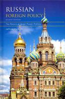 Russian Foreign Policy PDF