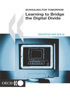 Schooling for Tomorrow Learning to Bridge the Digital Divide PDF