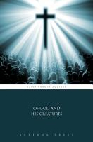Of God and His Creatures PDF