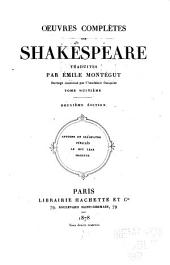 Œuvres complètes de Shakespeare: Volume8