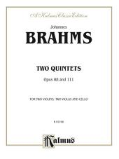 Two Quintets, Op. 88 and 111: String Quintet