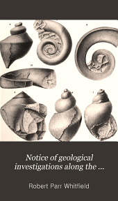 Notice of Geological Investigations Along the Eastern Shore of Lake Champlain ...: With Descriptions of the New Fossils Discovered