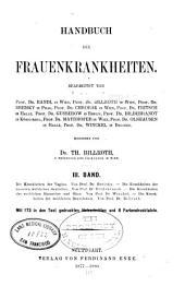Handbuch der frauenkrankheiten: Volume 3
