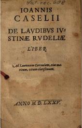 De Laudibus Iustinae Rudeliae Liber