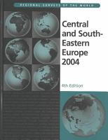 Central and South Eastern Europe 2004 PDF