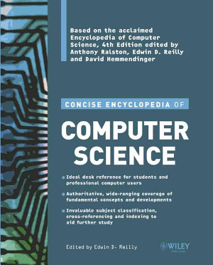 Concise Encyclopedia of Computer Science PDF