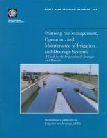 Planning the Management  Operation  and Maintenance of Irrigation and Drainage Systems PDF