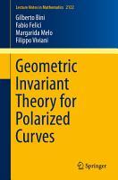 Geometric Invariant Theory for Polarized Curves PDF