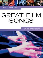 Really Easy Piano  Great Film Songs PDF