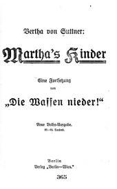 """Martha's Kinder: eine Fortsetzung von """"Die Waffen neider!"""""""