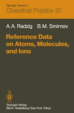 Reference Data on Atoms, Molecules, and Ions