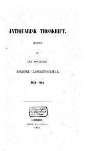 Antiquarisk tidsskrift: Bind 5