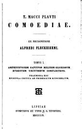 T. Macci Plavti Comoediae: Amphitruonem, Captivos, Militeni gloriosum, Rudentem, Trinummum complectens