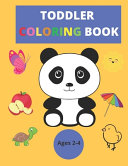 Coloring Book for Toddlers 2-4 Years