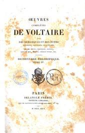 Oeuvres Completes de Voltaire avec des Remarques et des Notes