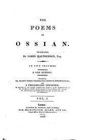 The Poems of Ossian: Volume 1