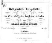 Kalligraphische Vorlegblätter für Schulen und zum Selbstunterricht: Band 2