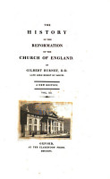 A history of the reformation of the Church of England  3 vols   in 6    on large paper  cm 27 PDF