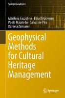 Geophysical Methods for Cultural Heritage Management PDF